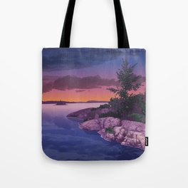 French River Provincial Park Tote Bag