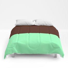 Choc Mint Comforters