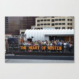 SXSW Canvas Print