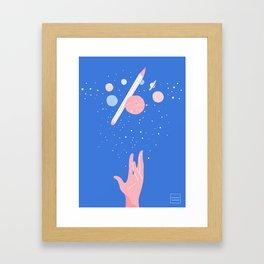 A Universe of Creation Framed Art Print