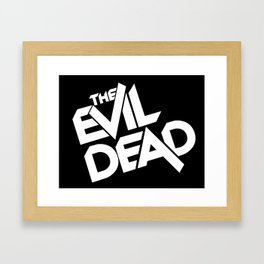 The Evil Dead (1981) Framed Art Print
