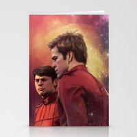 Stationery Cards featuring Star Trek: I have loved the stars too fondly to be fearful of the night by loobeeinthesky