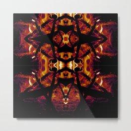 Eye of Fire Metal Print