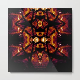 Eye of Fire Metal Print