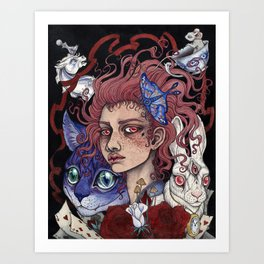 Lost In Wonder Art Print
