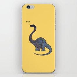 Dang Dino iPhone Skin