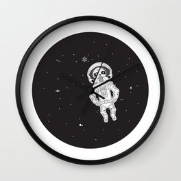 Drifting to eternity Wall Clock