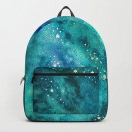 Galaxy watercolor n.2 Backpack