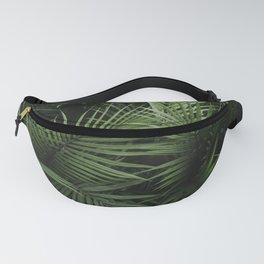 Fern Photography   Moody Green   Botanical   Tropical Fanny Pack