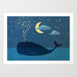 Star-maker Art Print