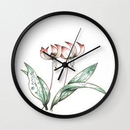 Pastel Perfection Wall Clock