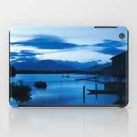 buddhism iPad Cases featuring BLUE VIETNAMESE MEDITATION  by CAPTAINSILVA