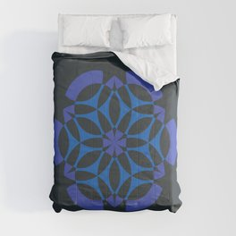 Little Data | Abstract sacred geometry | Aliens crop circle Comforters