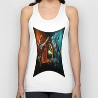 games Tank Tops featuring games trending  , games trending  games, games trending  blanket by ira gora