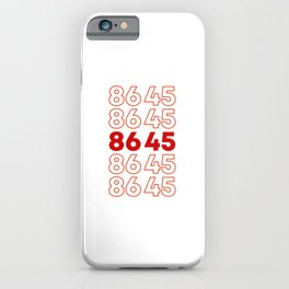 86 45 Impeach Trump 2020 Election USA Political Liberal Gifts iPhone Case