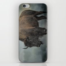 Stormy Day - Buffalo - Wildlife iPhone & iPod Skin