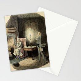 Marley's Ghost-John Leech Stationery Cards