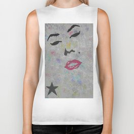 The star Marilyn Monroe Biker Tank