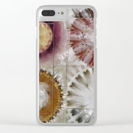 Inexhaustible Spacing Flower  ID:16165-130627-15901 Clear iPhone Case