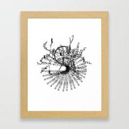 soundless Framed Art Print