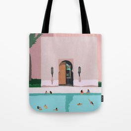 Middle Eastern Swims Tote Bag