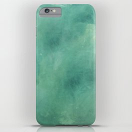Turquoise Stone Texture iPhone Case