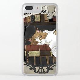 Crookshanks Clear iPhone Case