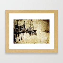 Cottlesloe Jetty Framed Art Print