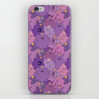 lumpy space princess iPhone & iPod Skins featuring Lumpy Space Princess by Beesants