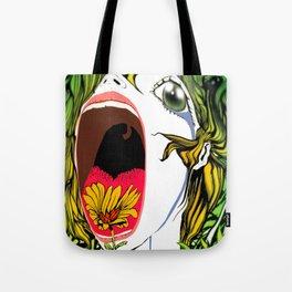 Hibiscus meets Pandanus (Kryberdeen v.2) Tote Bag