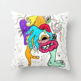 mixxed. Throw Pillow