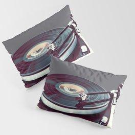 Vinyl Player Pillow Sham