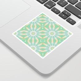 Citrus Mandala Repeat Sticker