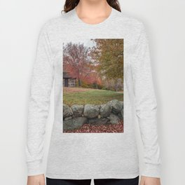 Babson Museum on a rainy October day 10-24-18 Long Sleeve T-shirt