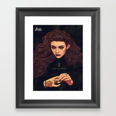 The Fire's Found A Home In Me Framed Art Print