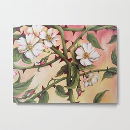Vanilla Rose III Metal Print