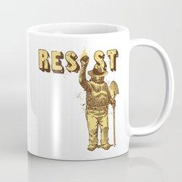 Smokey Says Resist Coffee Mug