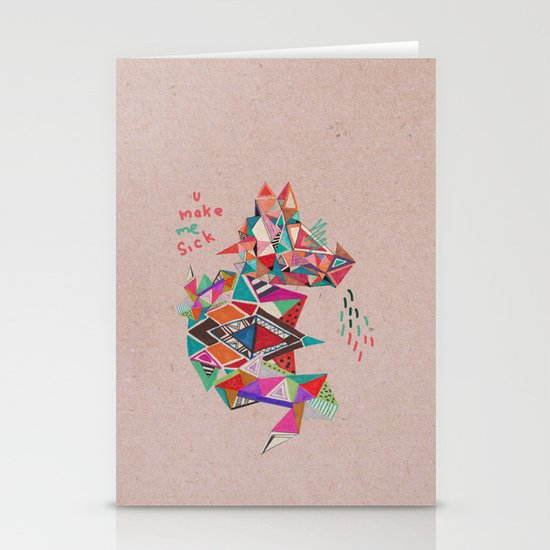 S I C K  Stationery Cards