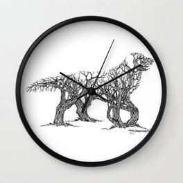 Golden Re-Tree-Ver Wall Clock