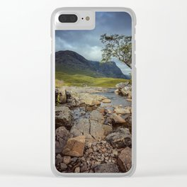 The Tree at Glencoe Clear iPhone Case