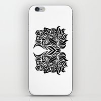 gemini iPhone & iPod Skins featuring Gemini by Mario Sayavedra
