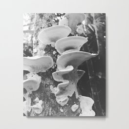 Tower of Mushrooms Metal Print