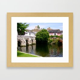 View Of Christchurch Dorset Framed Art Print