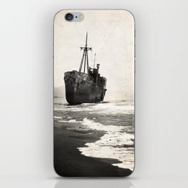 black pearl iPhone Skin