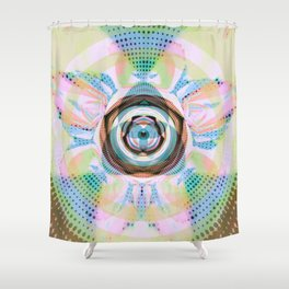 spheres Shower Curtain