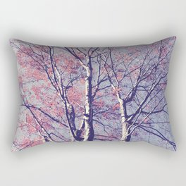 The Trees - The Enchanted Forest in Spring Rectangular Pillow
