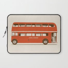 Red London Bus Laptop Sleeve