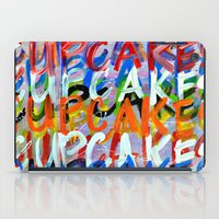 cupcakes iPad Cases featuring CUPCAKES by Claudia McBain