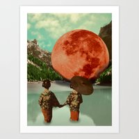 """""""Chinese Girls And The Planet"""" Art Print"""