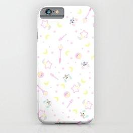 creamy mami items pattern iPhone Case